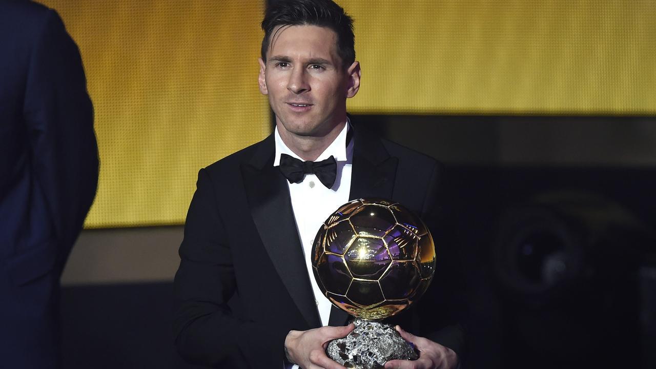 Messi wint voor vijfde keer Gouden Bal