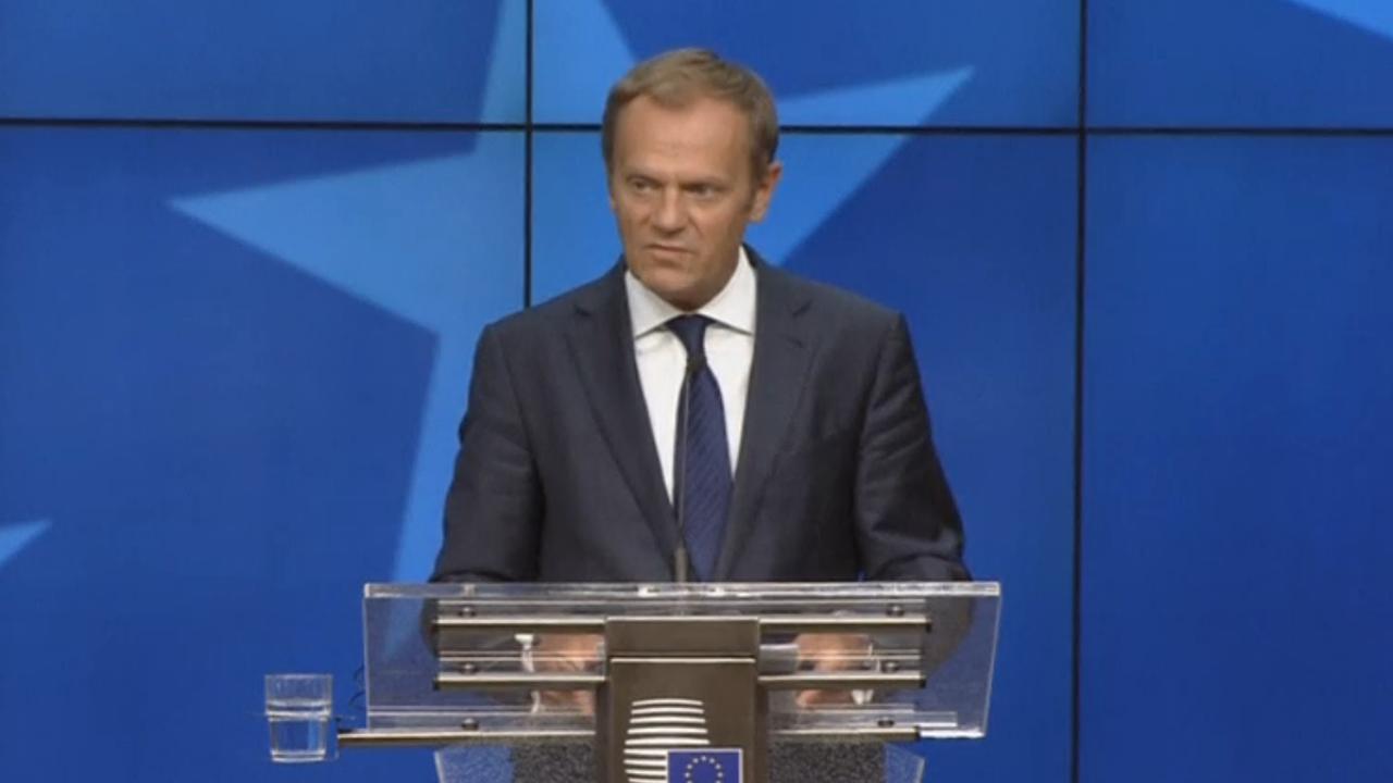 Tusk: 'Er komt geen interne markt à la carte'