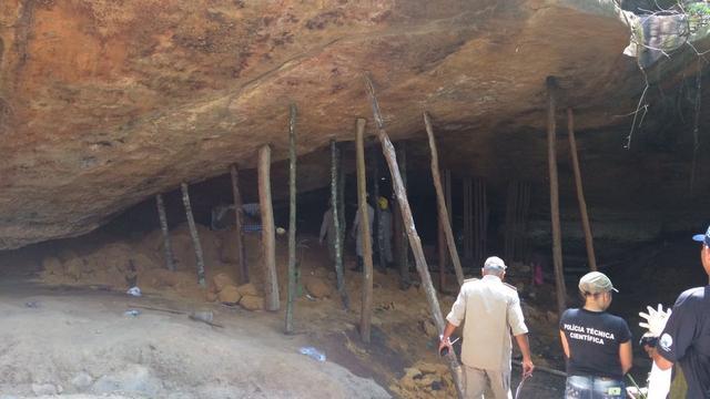 Doden door instorten grot in Brazilië tijdens Allerheiligenviering