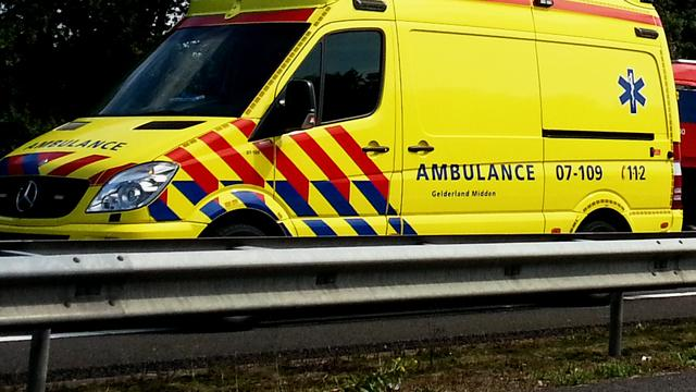 Vrouw veroorzaakt ongeval op N57 bij Ellemeet