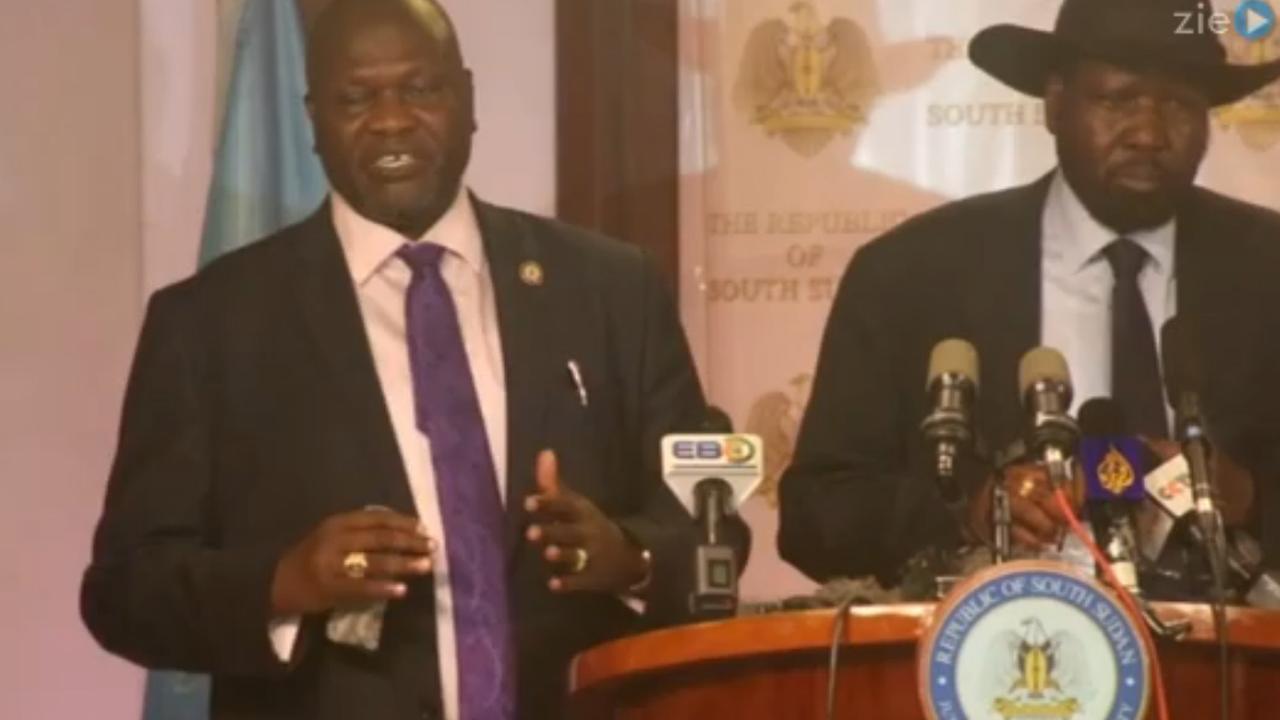 Schoten gelost bij vredesgesprekken Zuid-Sudan