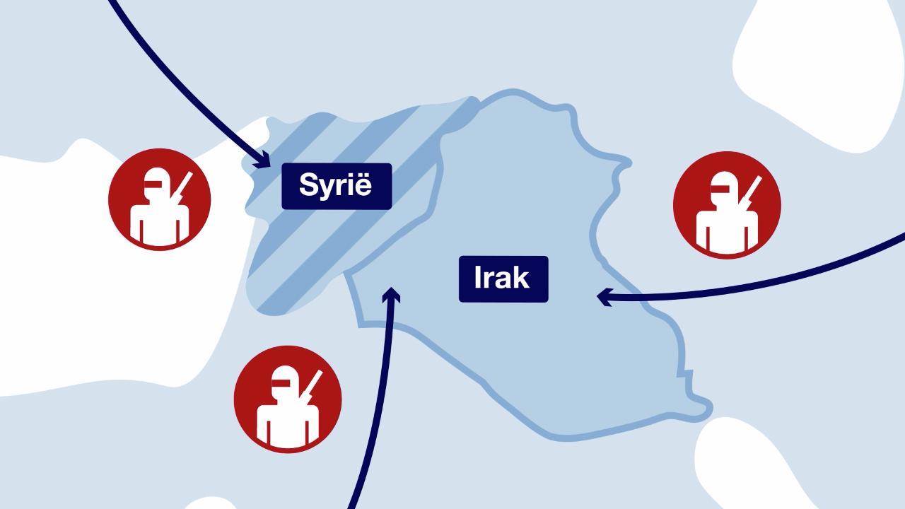 In 60 seconden: Wie zijn de IS-strijders?