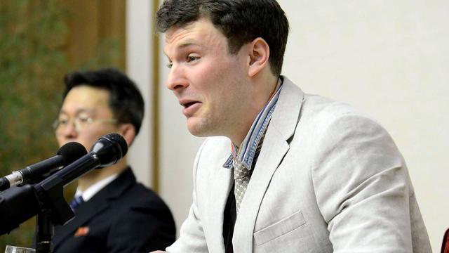Noord-Korea laat Amerikaanse student na anderhalf jaar vrij