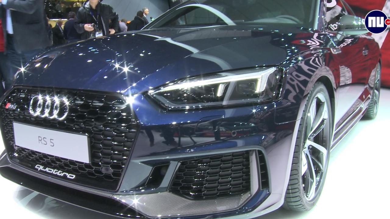 De splinternieuwe Audi RS5