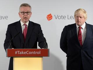 Gove maakte deel uit van team achter kandidaat Boris Johnson