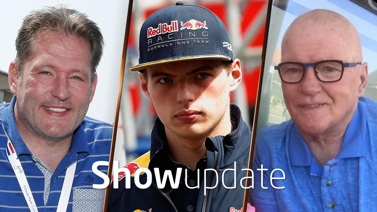 Show Update: Opa Verstappen wil carrière Max redden