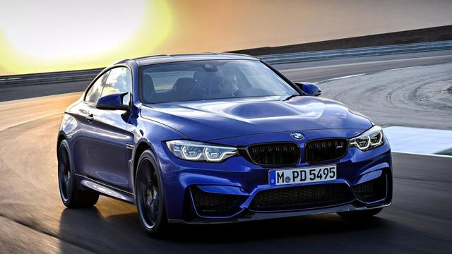 BMW M4 CS is middenweg tussen M4 en M4 GTS