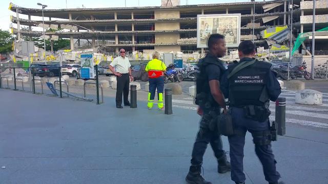 Parkeergarage in aanbouw vlakbij Eindhoven Airport deels ingestort