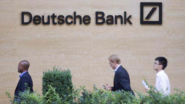Deutsche Bank verdubbelt winst na bezuinigingen
