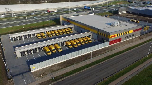 Negen miljoen euro kostend Service Center DHL in gebruik genomen