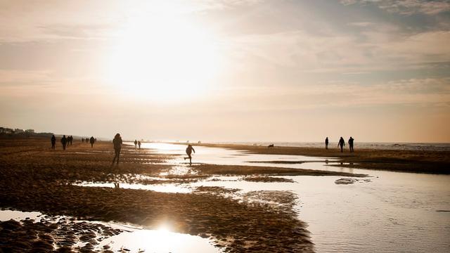 Vijfduizend liter paraffine op strand Zuid-Holland aangespoeld