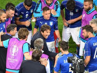 'De jongens hebben bewezen dat ze van het Italiaanse shirt houden'