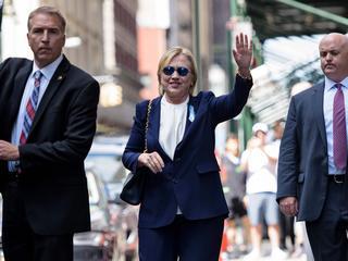 Presidentskandidate lijkt na drie dagen rust vanwege longontsteking weer op pad te gaan