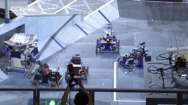 DJI organiseert wedstrijd voor robots en drones die balletjes schieten