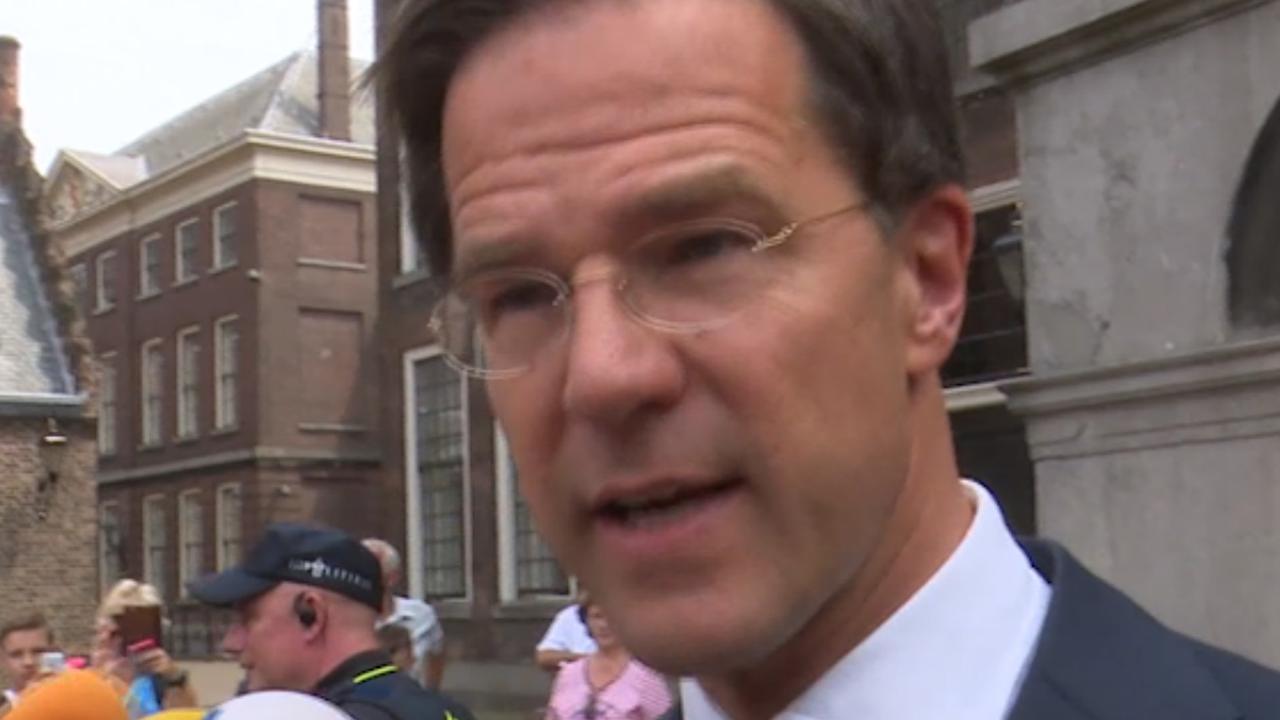 Partijen van 'motorblok' willen volgens Rutte verbindend kabinet