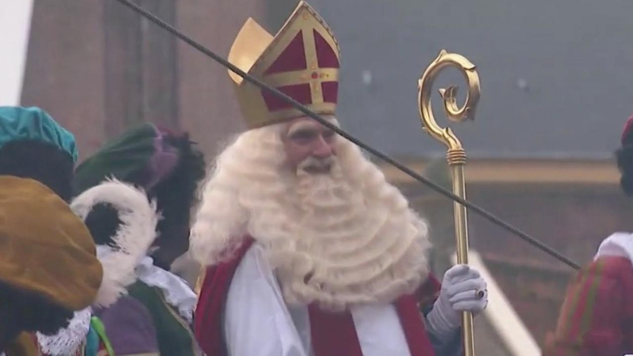 Sinterklaas komt aan in Maassluis