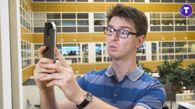 Prul of Praal? Superfelle selfieflitsers voor je smartphone
