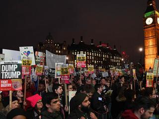Ook tientallen demonstraties tegen Trump op President's Day in de Verenigde Staten
