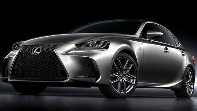 Subtiele facelift voor Lexus IS