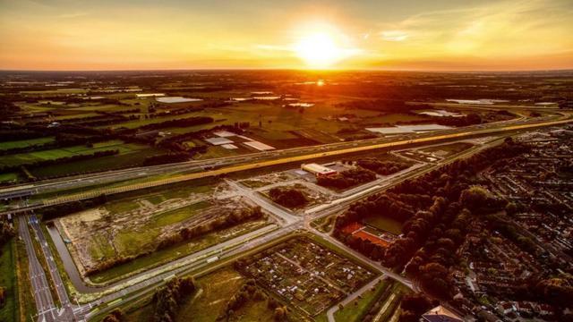 Industrieterrein Rithmeesterpark deze maand bouwrijp