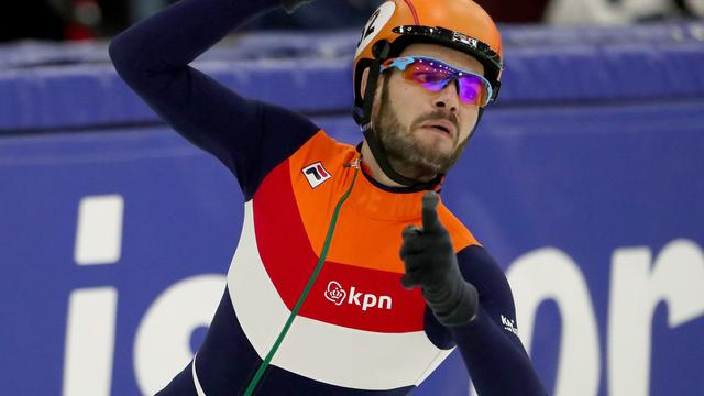 Knegt wint 1500 meter in wereldrecord bij World Cup in Salt Lake City