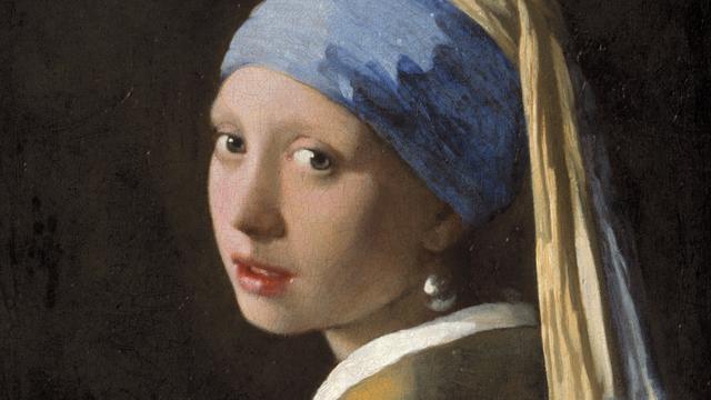 Onderzoek: Vermeer schilderde wel wimpers op Meisje met de Parel
