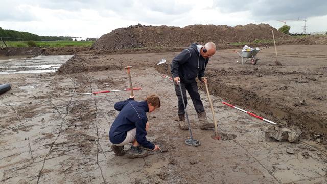 Tweeduizend jaar oude Romeinse weg blootgelegd in Utrecht