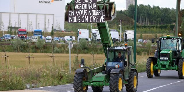 Belgische boeren blokkeren ook donderdag wegen