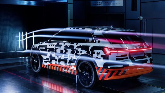 Elektrische Audi E-tron krijgt camera's als zijspiegels