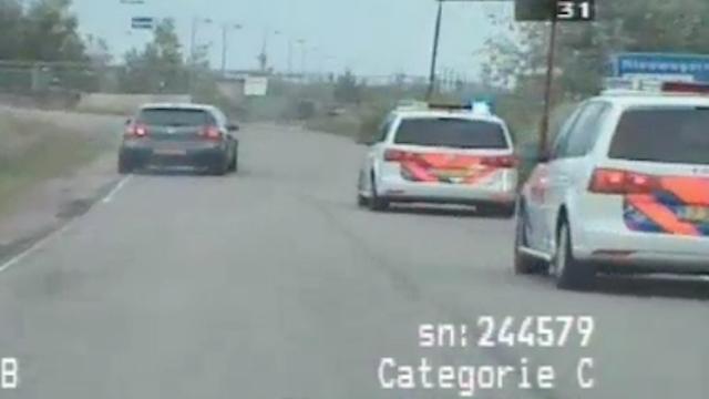 Tbs voor man die ravage achterliet na vlucht voor politie