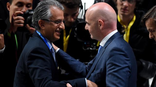 Sjeik Salman steunt Infantino bij hervormen FIFA