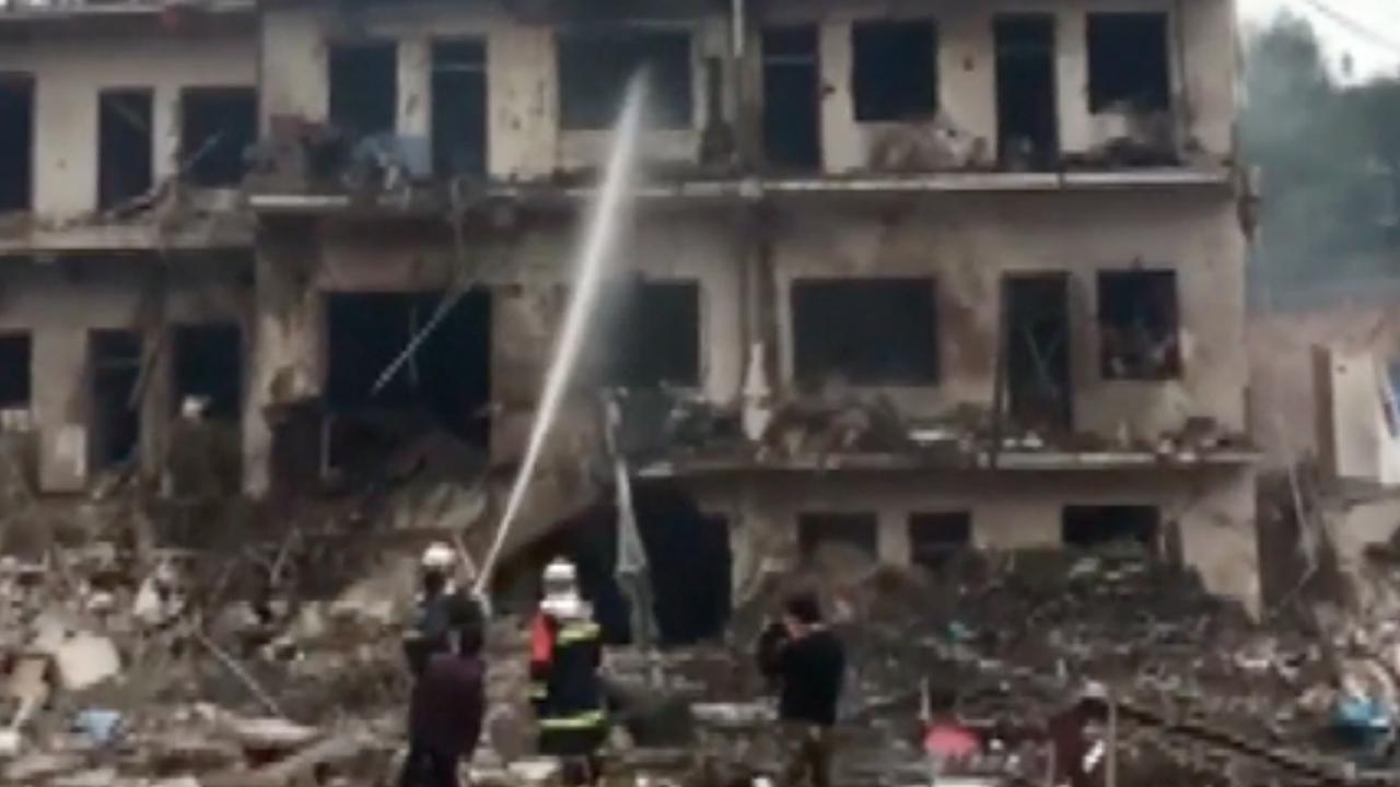 Doden en gewonden door explosie in China
