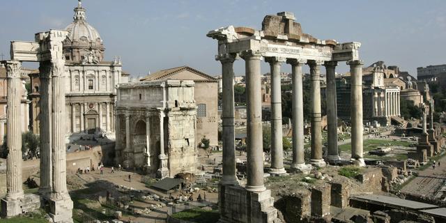 Resten tweede Titusboog in Rome gevonden