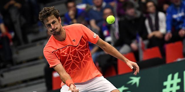 Davis Cup-team na eerste dag gelijk met Tsjechië na zege Haase