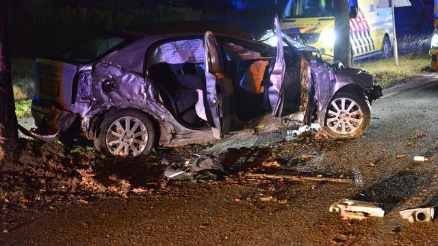 Man zwaargewond bij eenzijdig ongeval op Achtmaalseweg in Zundert