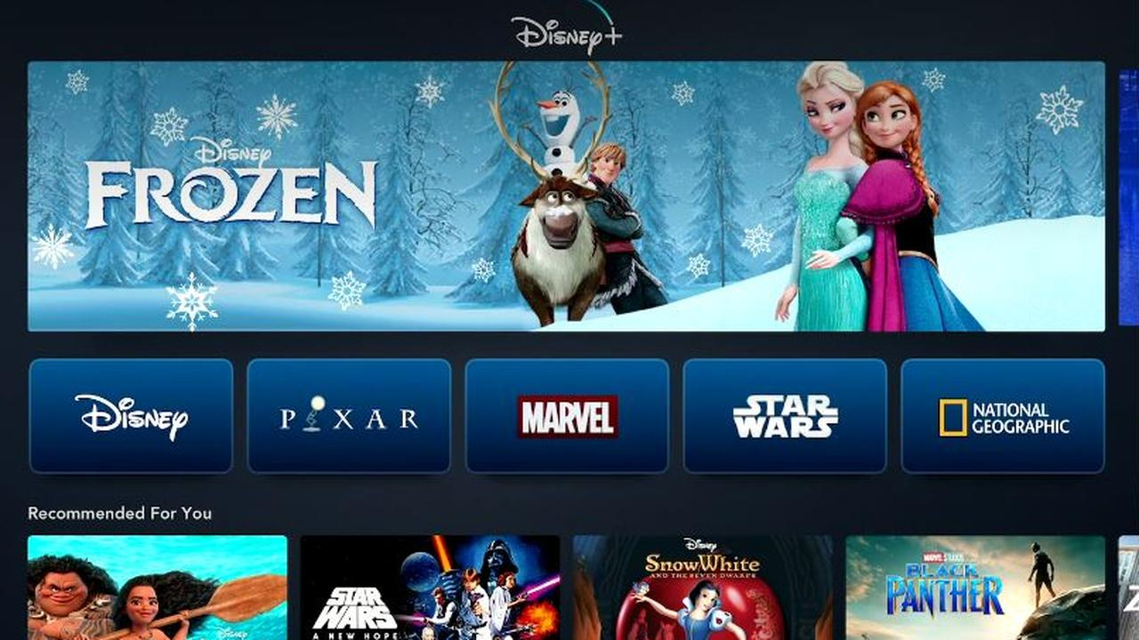 Disney shows the first images of the Disney + streaming
