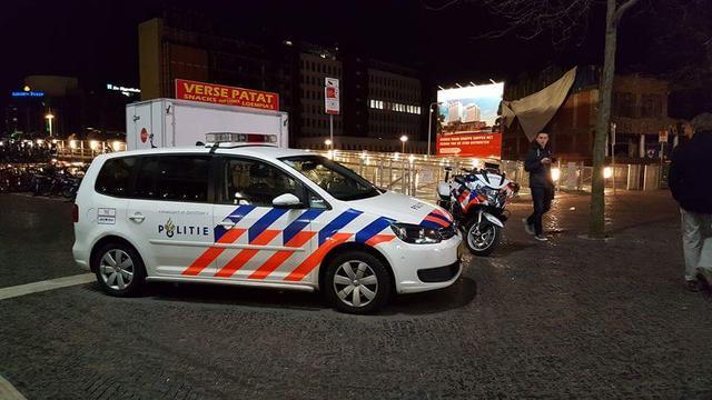 Drie mannen opgepakt bij ontruiming Leiden Centraal