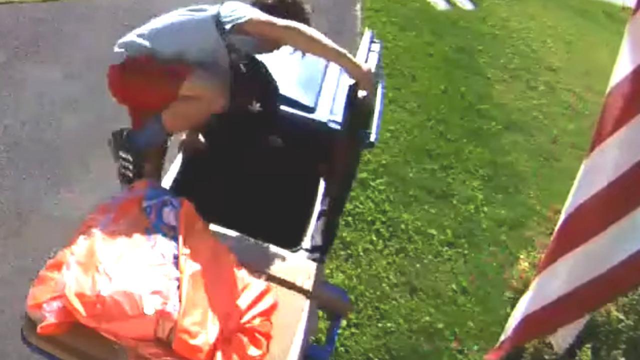 Jongen ontsnapt in Oregon aan agent door te verstoppen in container