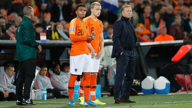 Van de Beek: 'Was weinig aanleiding om mij in basis van Oranje te zetten'