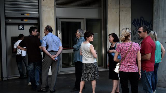'ECB wijzigt steun aan Griekse banken niet'