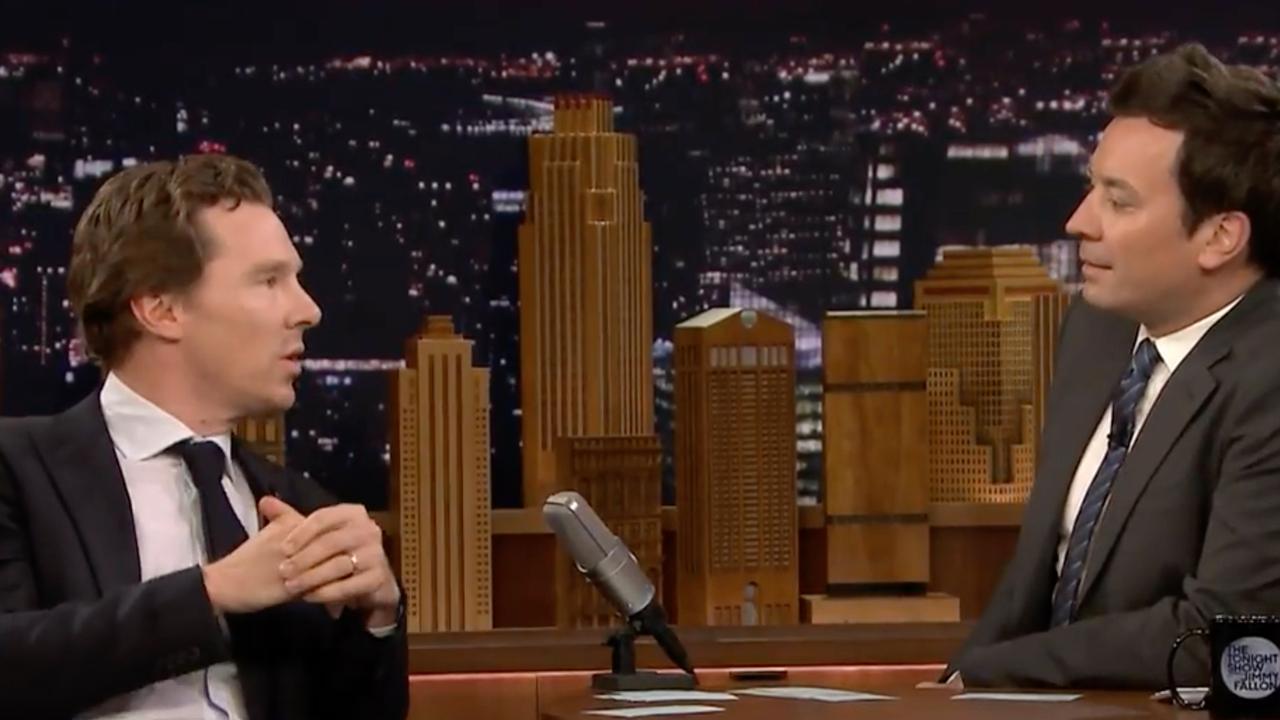 Benedict Cumberbatch zingt over aardappelpuree in zijn broek