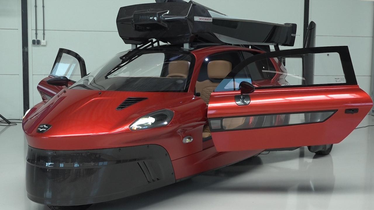 Vliegende auto klaar voor Nederlandse wegen