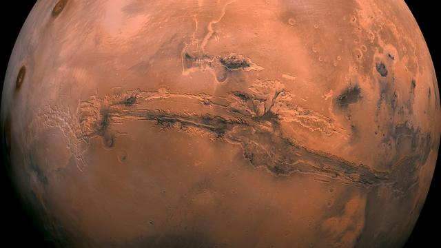Enorme stofstorm op Mars gaat na drie maanden liggen