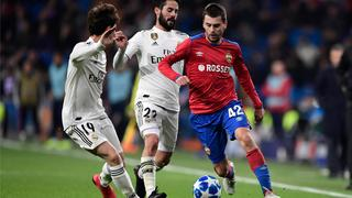 Samenvatting Real Madrid-CSKA Moskou (0-3)
