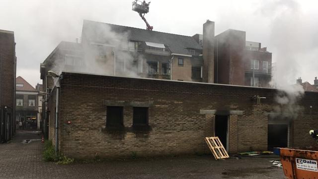 Brand gewoed bij pand Boschstraat