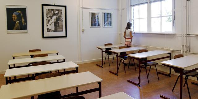 Docent in Schoonhoven bindt drukke leerling vast op stoel