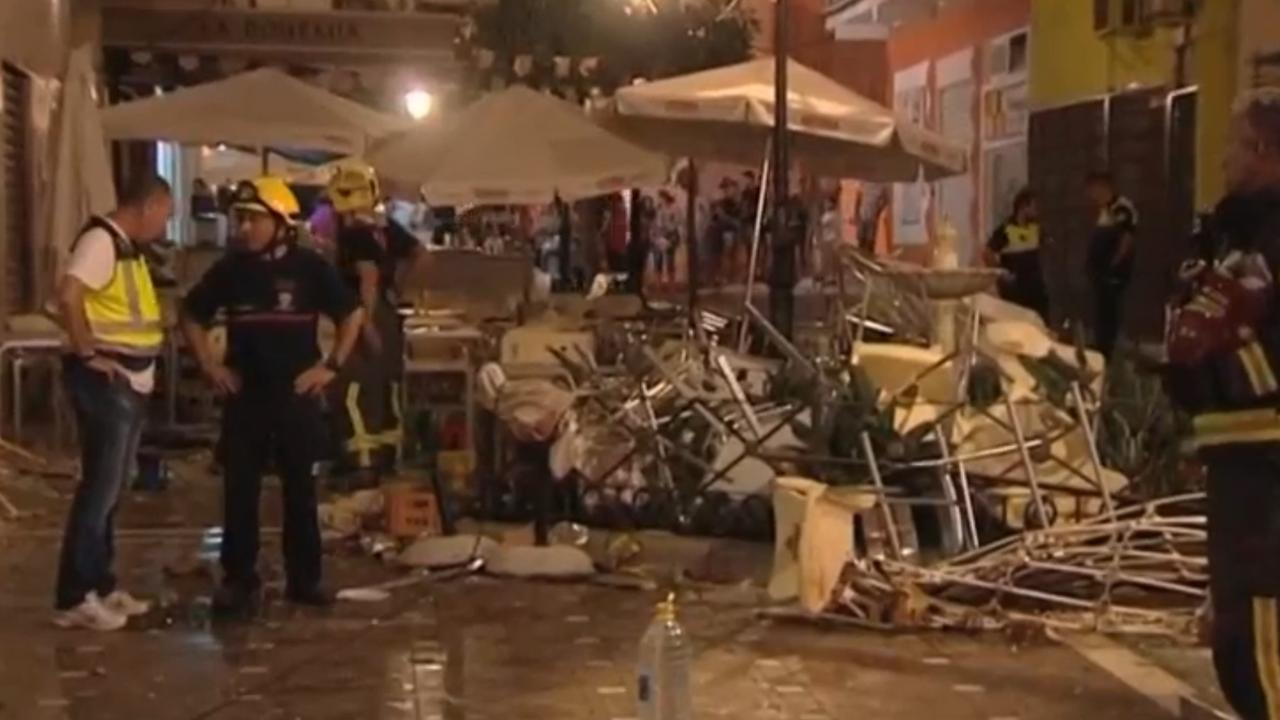 Tientallen gewonden in Spanje door ontploffing gascilinder
