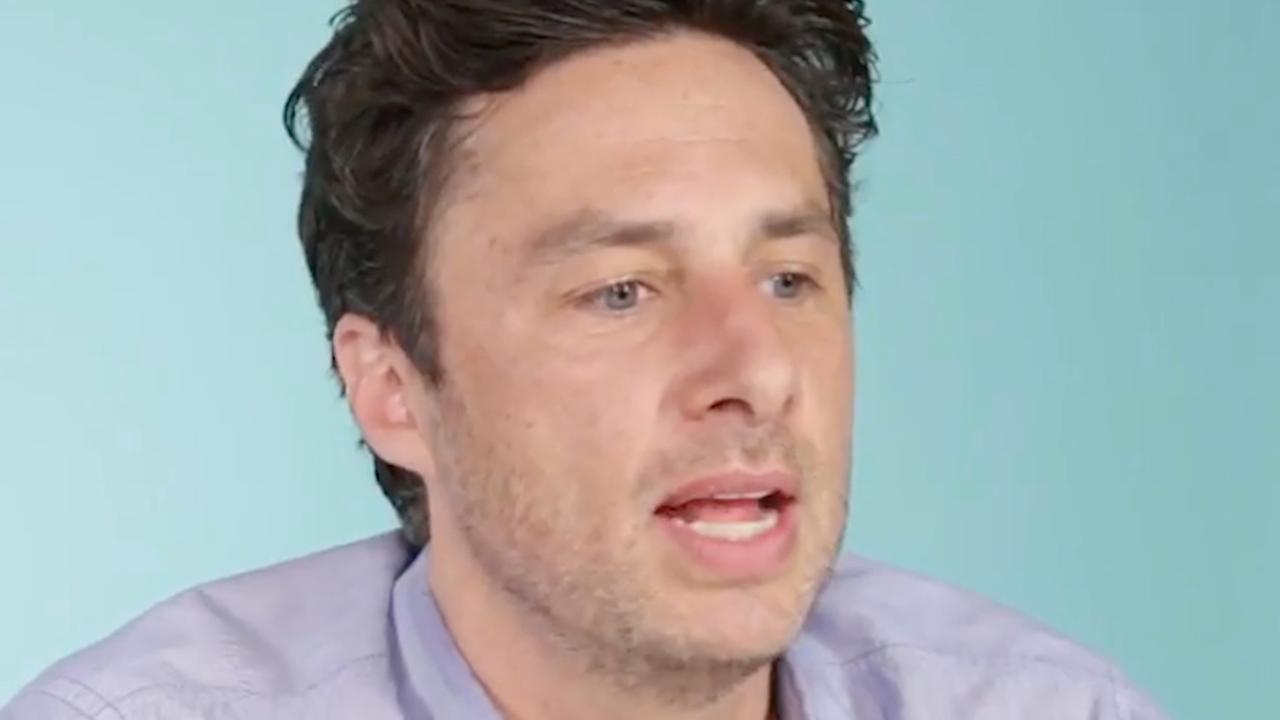 Zach Braff doet boekje open over 'bromance' met tegenspeler Scrubs
