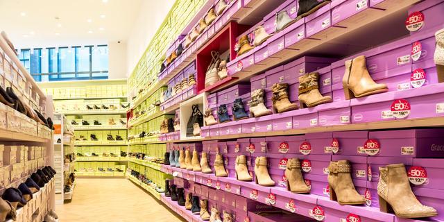 Schoenenwinkels zagen verkopen vorig jaar kelderen met ruim 20 procent