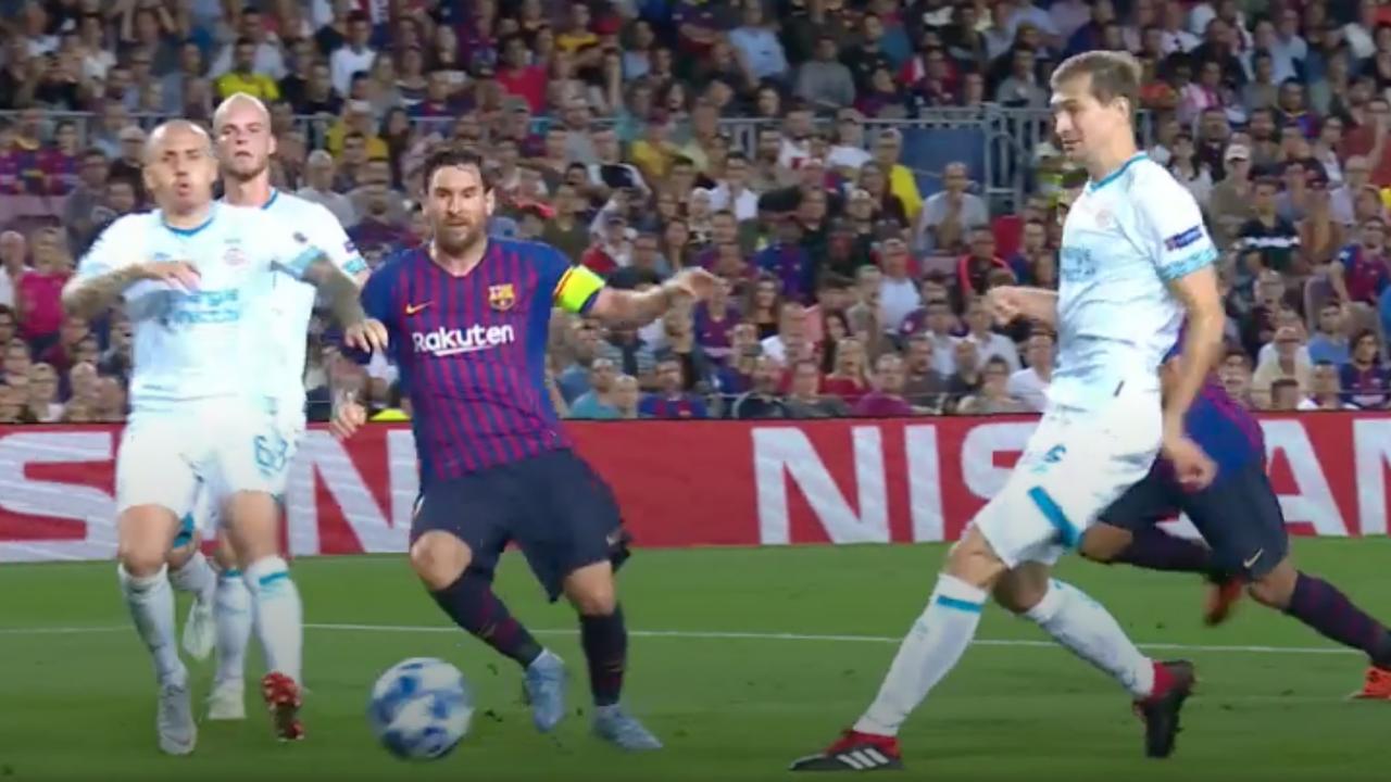 Samenvatting FC Barcelona-PSV (4-0)